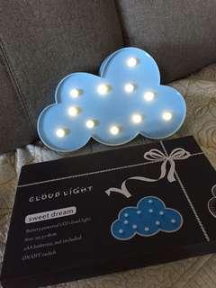 Cloud night light kids