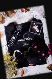 限量版黑色hello kitty Lumispa 套裝