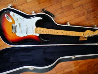 1998 Left Handed Fender USA Stratocaster