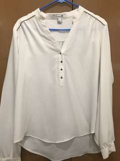 Forever21 white Blouse