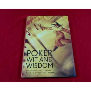Poker Wit and Wisdom