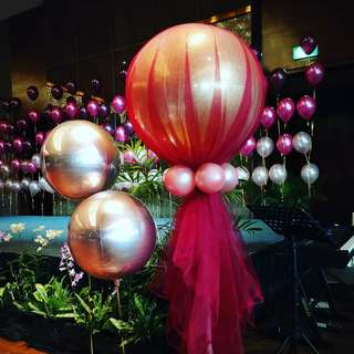 Custom balloons for wedding any events