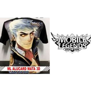 Kaos Mobile Legend alucard