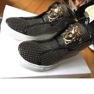 Versace Woman Shoes Made in Italy 女裝鞋 堅意大利造 超靚 us 36