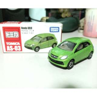 Tomica AS03 Honda Brio
