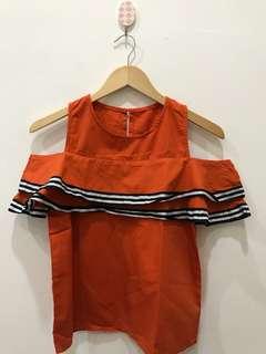 Bllouse sabrina orange