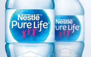 Air Mineral Nestle Pure Life.