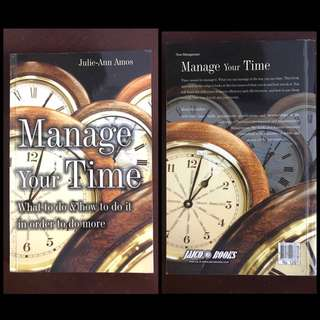Manage Your Time Book by Julie Ann Amos