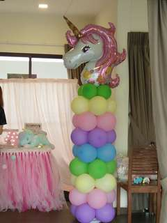 Unicorn balloon arc