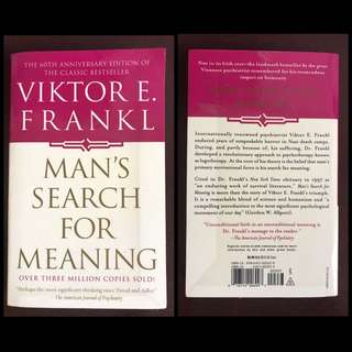 Man's Search For Meaning by Victor E.  Frankl