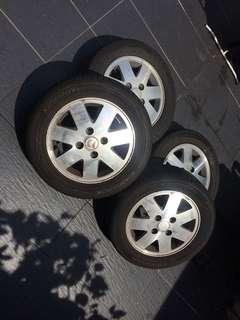 Rim 13 inch Kelisa / Perodua