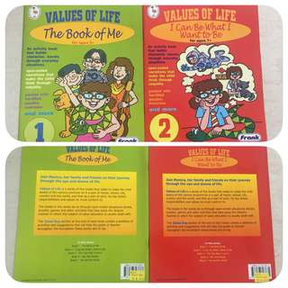 Values of Life : The Book of Me / I Can Be What I Want To Be