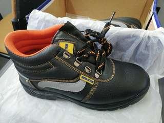 Safety Shoe - Mid cut (steel cap & steel toe)