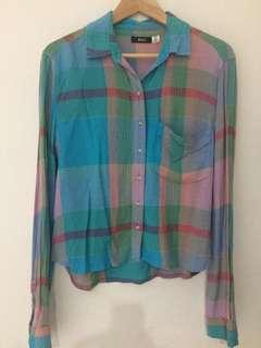 Vintage plaid shirt