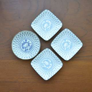 Small dishes set of 4 pcs.