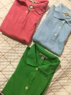 Burberry Women's Polo TAKE ALL!