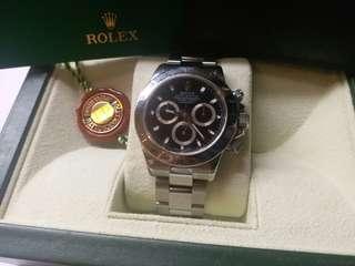 勞力士 Rolex 116520 Daytona 黑面M頭紙