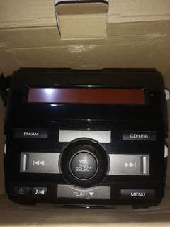 Honda stock car stereo with panel