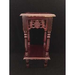 (Rent) Brown Decorative Table Oriental Theme