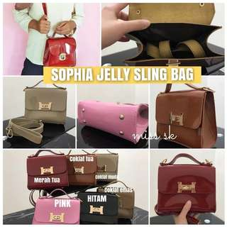 Sophia jelly sling