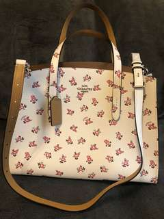 Coach satchel leather new