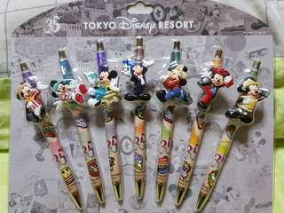 LIMITED EDITION! TOKYO DISNEY Resort 35th Anniversary pens gift set!