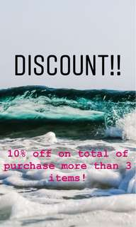 Yes it is happening!!! Any 3 items. And u get 10% off!