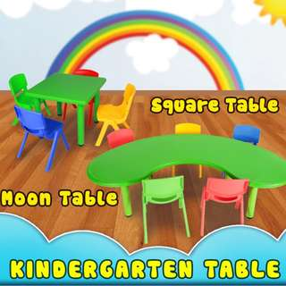 FREE SHIPPING KINDERGARTEN TABLE