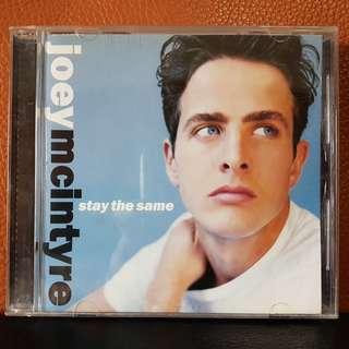CD》Joey McIntyre - Stay The Same