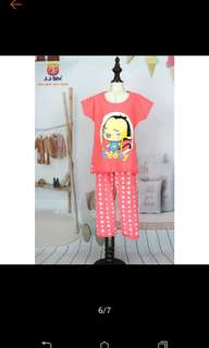 Terno pajama kids for girls