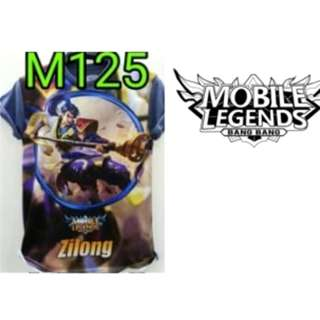 kaos mobile legend zilong