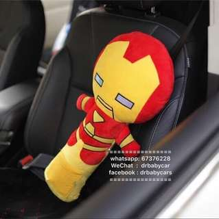 汽車 私家車 安全帶公仔套 毛公仔 午睡