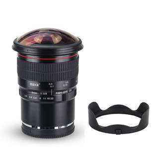 Meike 8mm F3.5 Ultra Wide Manual Fisheye Lens for Canon EFM Mirrorless