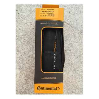 Continental Ultra Sport II Road Bike Tyre 700c 25c