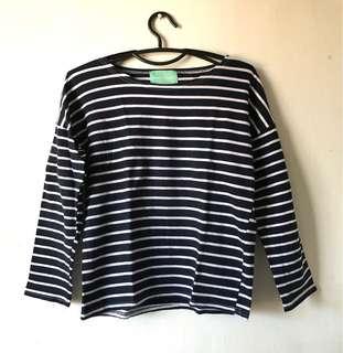 Hue Stripe sweatshirt