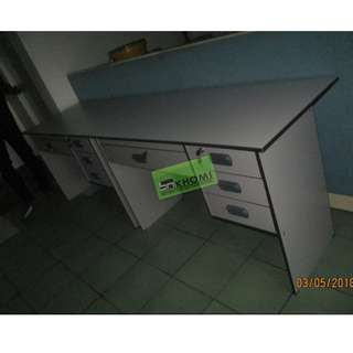 CNC 125C FREESTANDING TABLE WITH 3 DRAWER SIDE CABINET-KHOMI