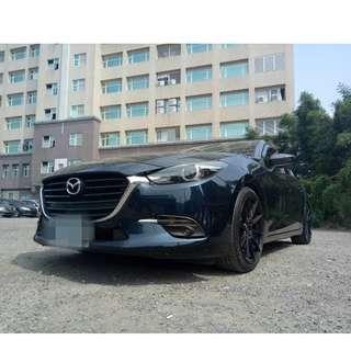 2016年魂動馬3藍色頂級跑2萬   大桃園優質二手中古車買賣