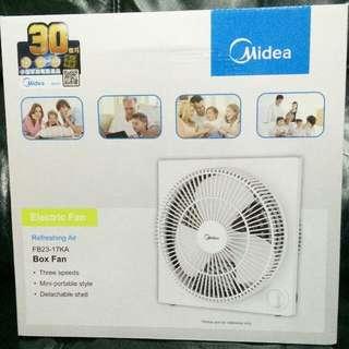 Midea 美的 9吋 鴻運扇 電風扇 Electric Fan / Box Fan FB23-17KA 全新正版有盒