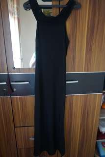 Sabrina Long Dress / Dress Pesta