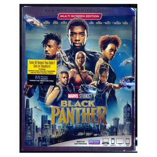 Black Panther - New Blu-Ray