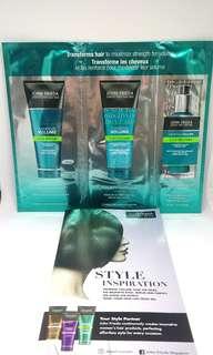 John Frieda Luxurious Voulme Shampoo, Conditioner & Treatment (Samples)