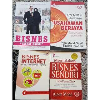 4 dalam 1 Buku Bisnes Bahasa Melayu