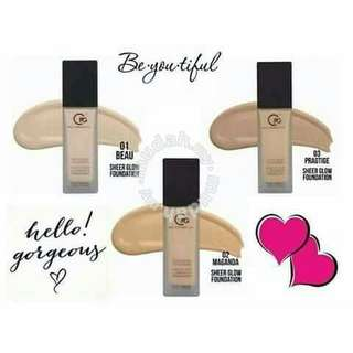 Liquid Sheer Glow Foundation CPG