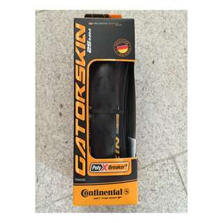 Continental Gatorskin Road bike tyre 700c 25c (Handmade in Germany)