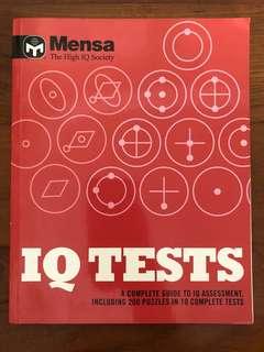 Mensa IQ and Math Tests