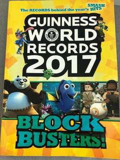guinness world records 2017 book