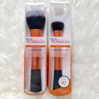 Real Techniques expert and face brush ( set )