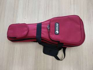 Quality soprano ukelele bag Red only