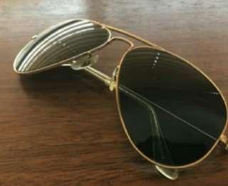 Rayban Aviator Gold Frame