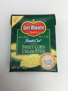 Sweet Corn Cream Style Del Monte
